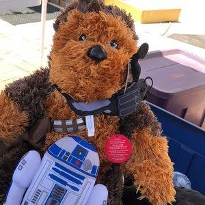 New Star Wars Plush Chewbacca Build a Bear